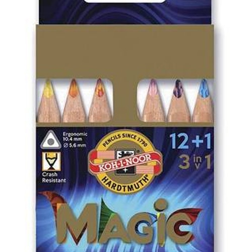 Magic-pennor 12-pack +