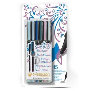 Chameleon Fineliners 6-pack Cool