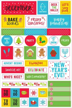 Planner stickers Month by month