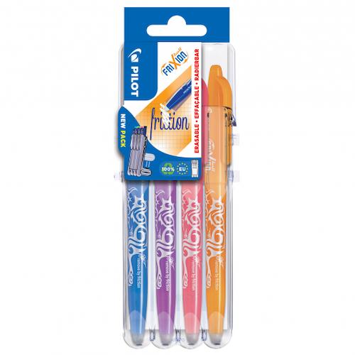 Frixion raderbara pennor 4-pack