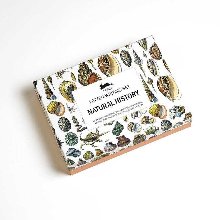 Natural History Brevpapper-set