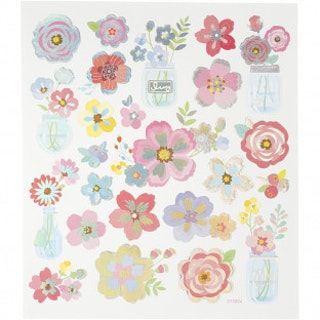 Stickers Blommor i vas