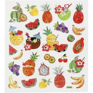 Stickers Exotisk frukt