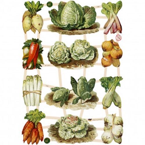 Bokmärken Grönsaker