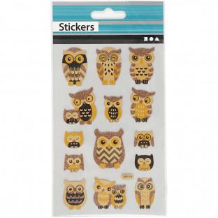 Stickers Ugglor och nostalgi