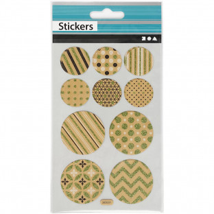 Stickes Bags, tags and circles