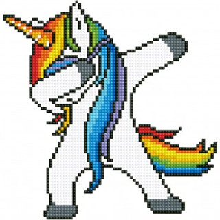 Diamond dotz Unicorn Dab