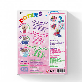 Diamond Dotz Dotzies Pink