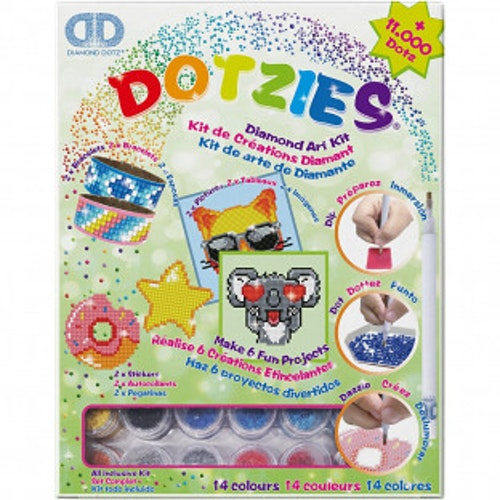 Diamond Dotz Dotzies Green