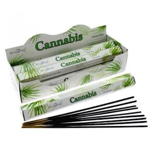 Cannabis, rökelse, Storpack, Stamford Premium Hex