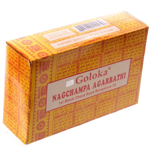 Goloka Nag Champa Agarbathi 16g Storpack