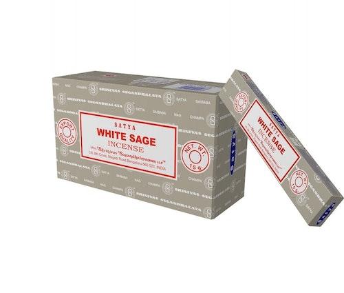 White Sage Storpack, Rökelse, Satya