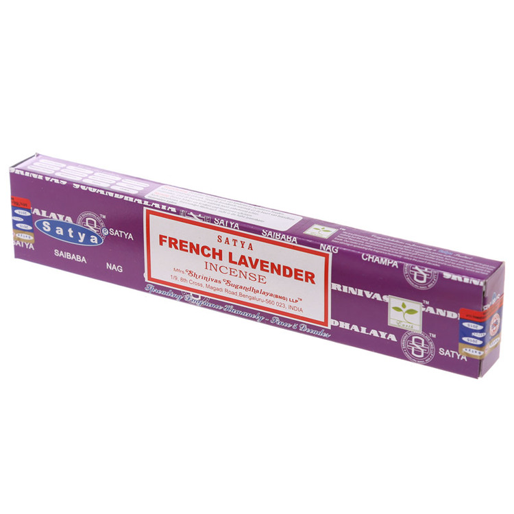 French Lavender, Rökelse, Satya