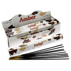 Amber, Bärnsten, rökelse, Stamford Premium Hex