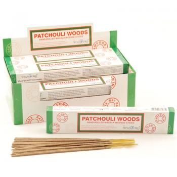 Patchouli Woods, rökelse, Stamford Masala