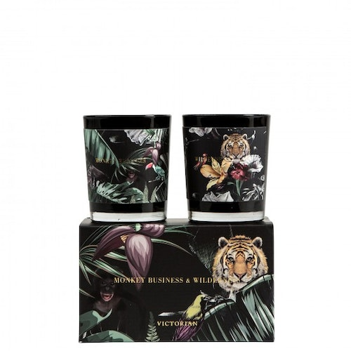 Wilderness/Monkey, 2-pack, Victorian Candles