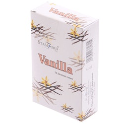 Vanilla, Vanilj, rökelsekoner, Stamford