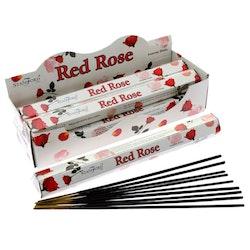 Red Rose, rökelse, Stamford Premium Hex