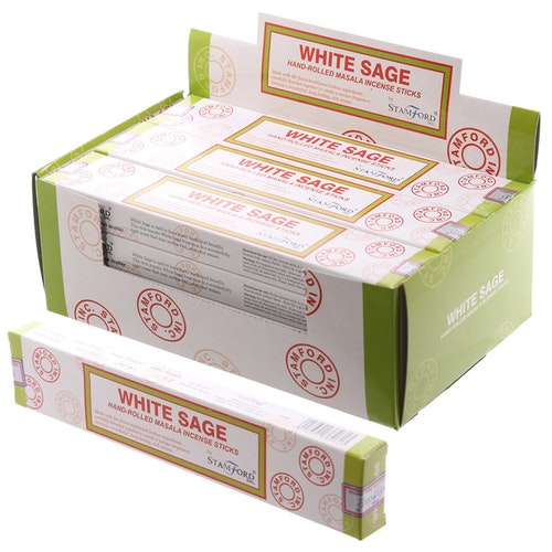 White Sage, rökelse, Stamford Masala