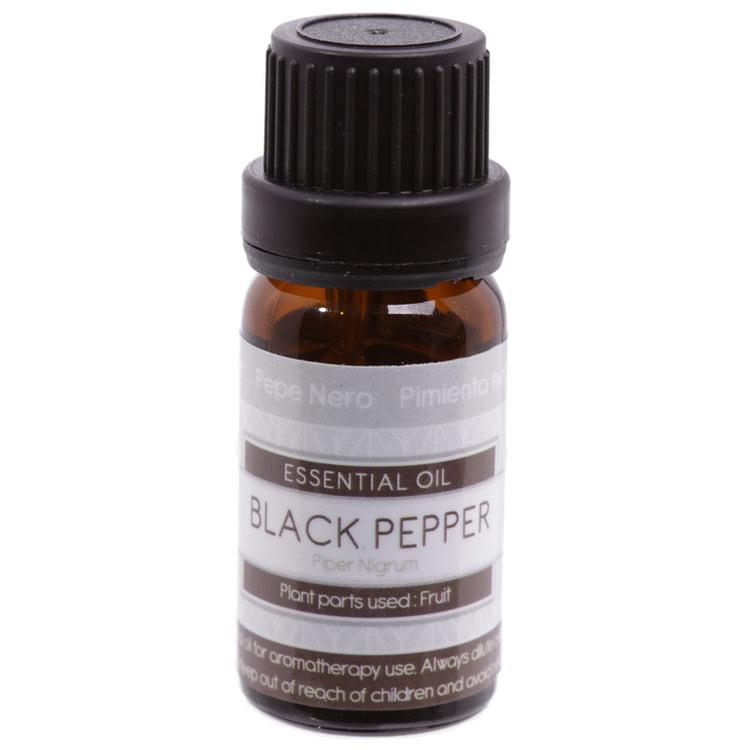 Svartpeppar, Black Pepper, Eterisk Olja, Eden, 10ml