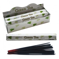 Grönt Te, Green Tea, rökelse, Stamford Premium Hex