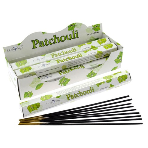 Patchouli, rökelse, Stamford Premium Hex
