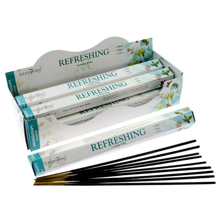 Refreshing, rökelse, Stamford Aromaterapi