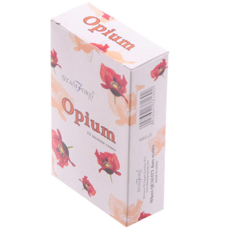Opium, rökelsekoner, Stamford