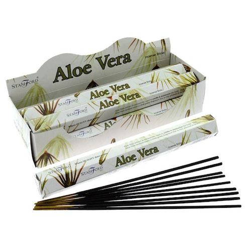 Aloe Vera, rökelse, Stamford Premium Hex