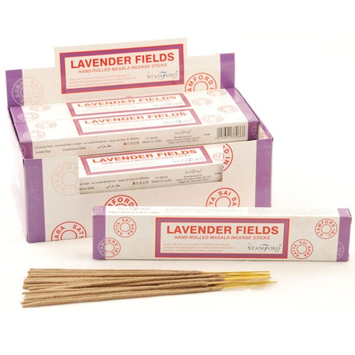 Lavender Field, Lavendelfält, rökelse, Stamford Masala