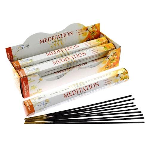 Meditation, rökelse, Stamford Aromaterapi
