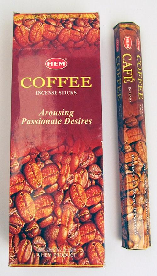Kaffe, rökelse, HEM