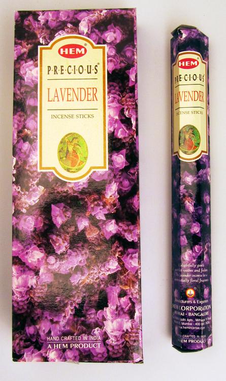 Precious Lavender, Lavendel rökelse, HEM