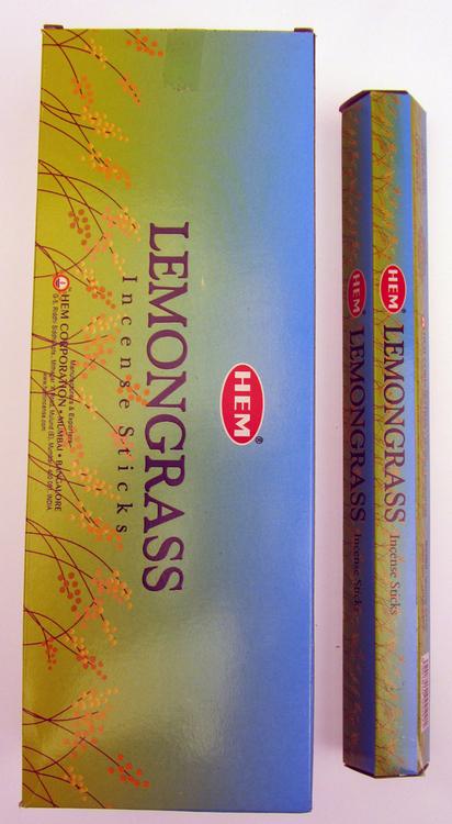 Lemongrass, rökelse, HEM