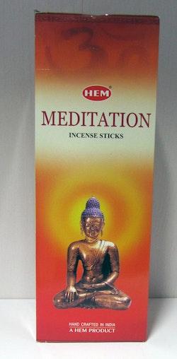 Meditation, rökelse, HEM