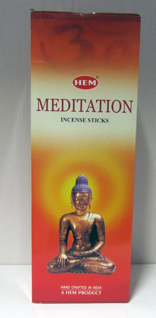 Meditation, rökelse, HEM