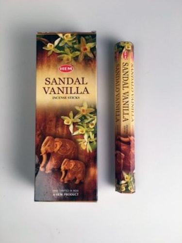 Sandal-Vanilla, Sandel Vanilj rökelse, HEM