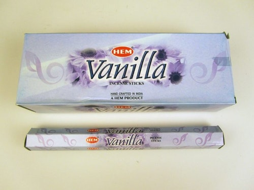Vanilla, rökelse, HEM