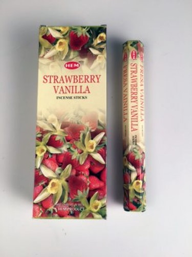 Vanilla Strawberry, rökelse, HEM