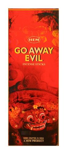 Go Away Evil, rökelse, HEM