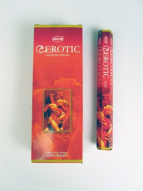 Erotic, rökelse, HEM