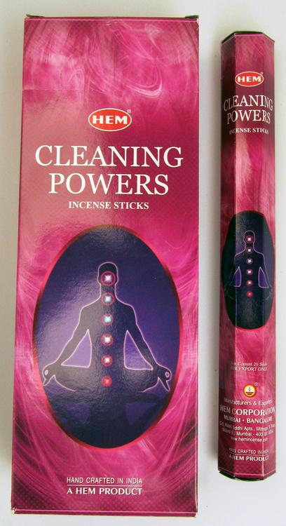 Cleaning Powers, rökelse, HEM