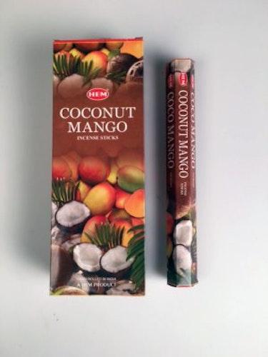Coconut-Mango, Kokosnöät Mango rökelse, HEM