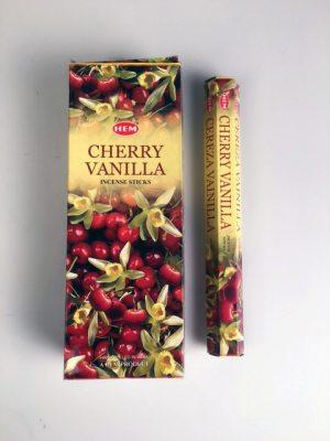 Cherry-Vanilla, Körsbär Vanilj rökelse, HEM