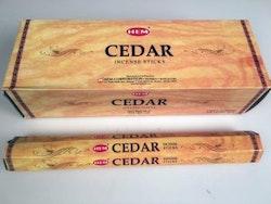 Cedar, rökelse, HEM