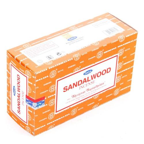 Sandalwood, Rökelse, Storpack, Satya