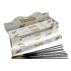 Vanilla, rökelse, Storpack, Stamford Premium Hex