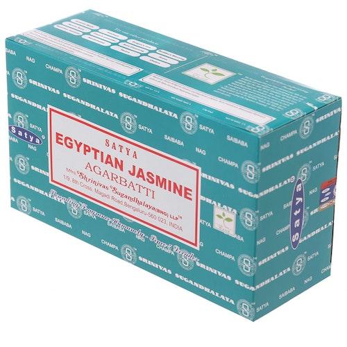 Egyptian Jasmine, Rökelse, Storpack, Satya