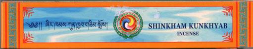 Tibetansk Shingkham Kunkhyab Healing Herbal Incense 27 cm