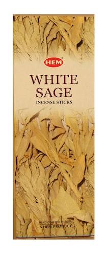White Sage, Salvia rökelse, HEM